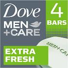 DoveMen+Care Extra Fresh Body and Face Bar 4oz, 4 Bar