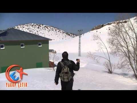 Dikilitaş Yaylası Karlarla Kaplı Görünümü 2