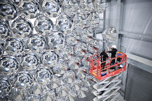 German 'Largest Artificial Sun' To Generate Climate Friendly Fuel - Universe Today
