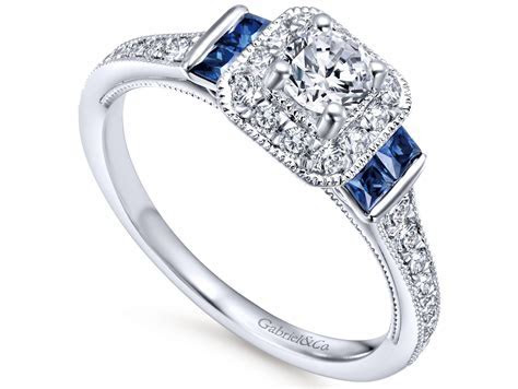 Gabriel & Co. Sapphire Engagement Ring ? Murphy Jewelers