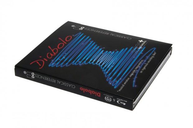 Der Diabolo-Disc fehlt das neue Logo noch auf der Packung. (Foto: Nina Sebayang/Golem.de)