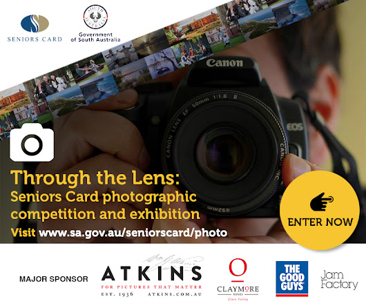 Through The Lens - Seniors Card photographic competition
