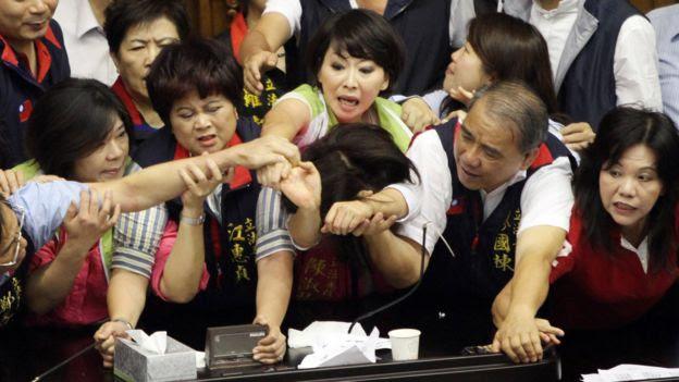 Parlamentares em 2013