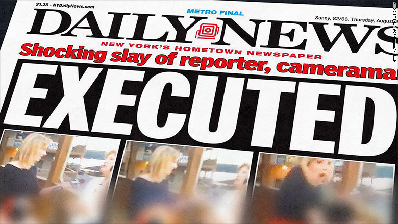 Plastered on the New York Daily News and Post front pages: an ...