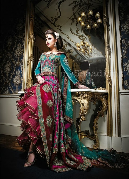 Beautiful-Girls-Wear-Wedding-Bridal-Dress-Designs-2013-14-New-Latest-Suits-by-Ekta-Solanki-1