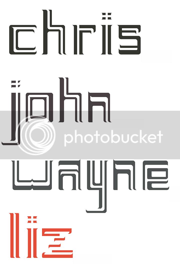 chris, john, wayne, liz