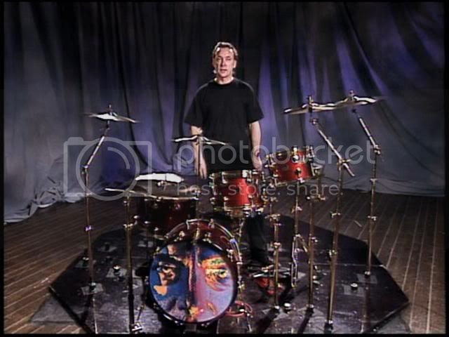 The original drumming man.