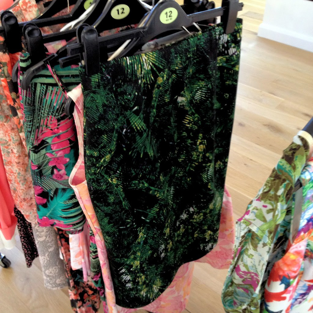 Green Jungle Print Skirt George At Asda High Summer