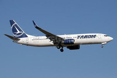 TAROM-Transporturile Aeriene Romane (Romanian Air Transport) Boeing 737-8GJ WL YR-BGS (msn 37360) AYT (Paul Denton). Image: 910281.