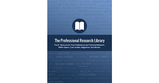 Free Professional and Technical Research Library of White Papers, Magazines, Reports, and eBooks