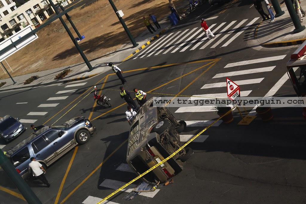[03192010] Fort Bonifacio car accident