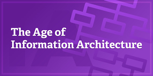 The Age of Information Architecture by Peter Morville
