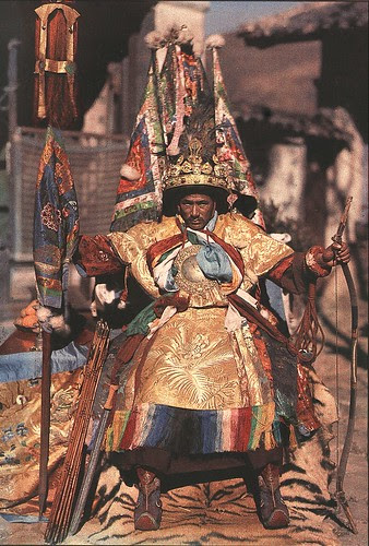A Naxi sorcerer by muti konka