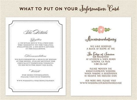 Accommodations Card on Pinterest   Couture Wedding