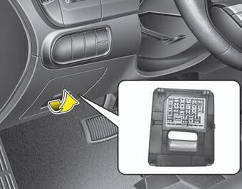 Kia Forte Fuse Relay Panel Description Fuses Maintenance Kia Forte Td 2014 2018 Owners Manual