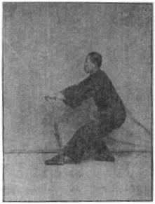 《昆吾劍譜》 李凌霄 (1935) - posture 23