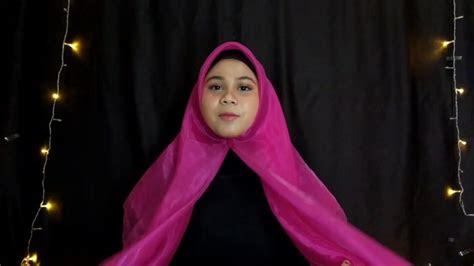 gambar tutorial hijab bahan organza tutorial hijab