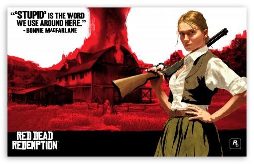 Red Dead Redemption Bonnie Macfarlane Uhd Desktop Wallpaper