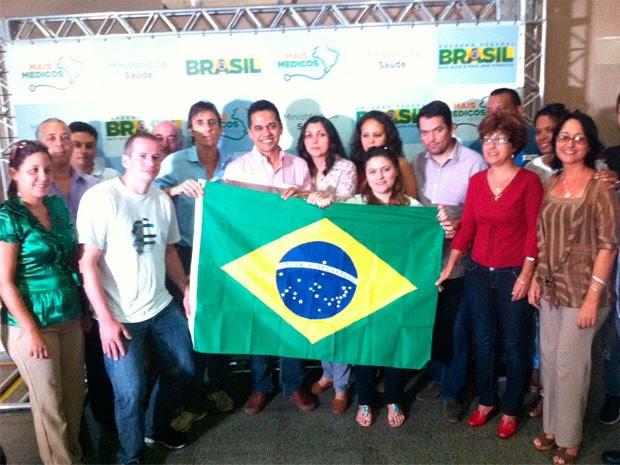 Grupo que atuará em oito cidades do RN passará semana em Natal  (Foto: Matheus Magalhães/G1)