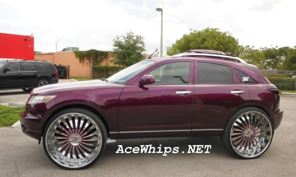 Ace 1 For Sale Candy Purple Infiniti Fx35 On 30