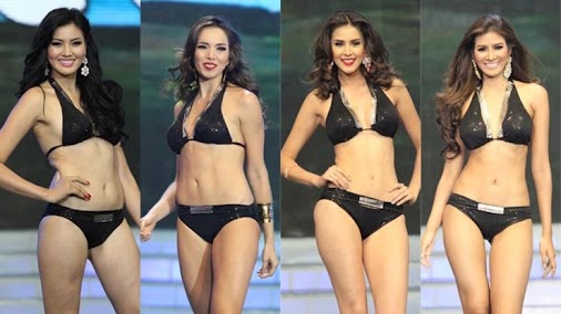 See photos of the #MissEarth2014 top 16 in their swimsuits