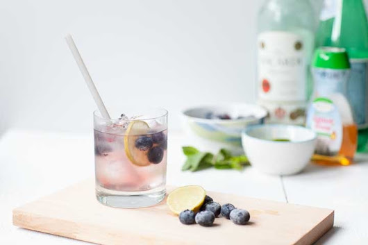 how to make the perfect blueberry mojito - The Tortilla Channel