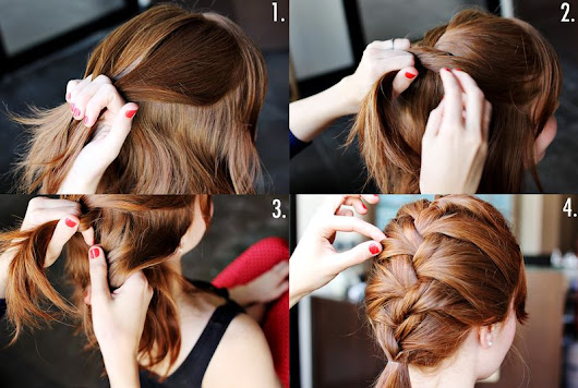 French Braid Tutorial Step By Step - Style Arena