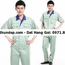 Quần áo bảo hộ lao động giá rẻ từ 65000 - 450000/bộ, Chiết khấu 10%  Mỗi công ty đều chọn cho mình một loại đồng, phục bảo hộ