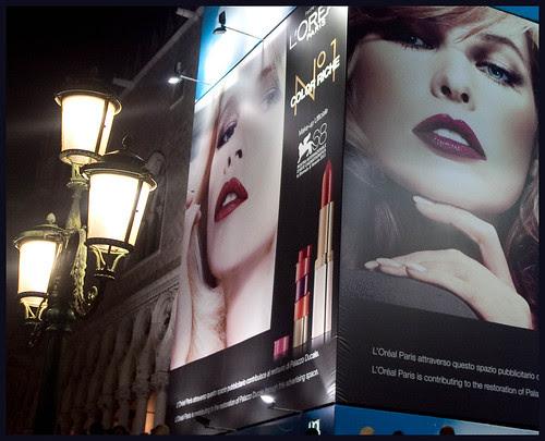 reclame in Venetie by hans van egdom