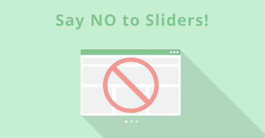 Are You Killing Your Website's Conversions With an Animated Slider?