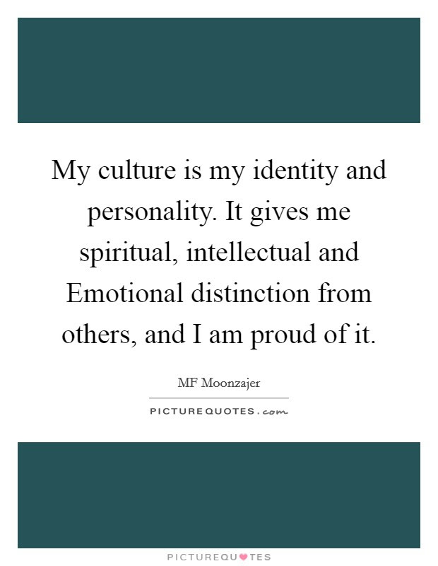 Culture Identity Quotes Sayings Culture Identity Picture Quotes
