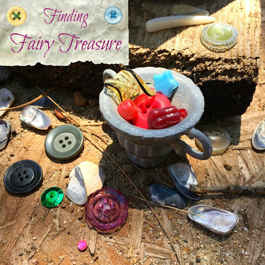 Finding Fairy Treasure in the Garden - The Patchy Lawn