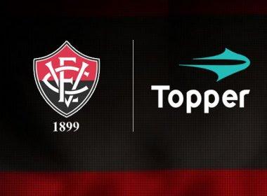 Vitória anuncia Topper como nova fornecedora de material esportivo