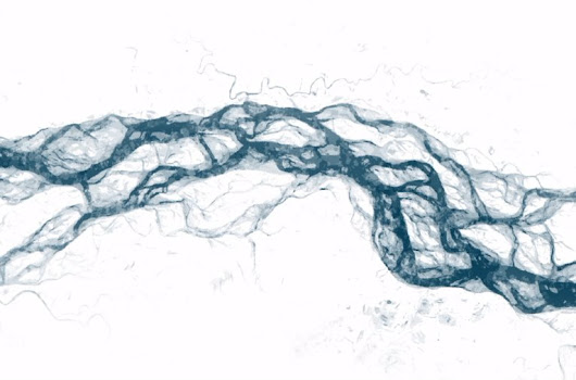 "NYT Science auf Twitter: ""Watch the world's rivers, lakes and other bodies of water change over the last 30 years  """