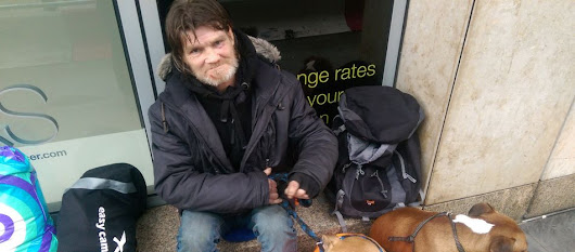 Homeless man slams Selfridges spikes and invites bosses to spend a night on the streets with him