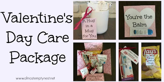 Valentine's Day Care Package - Almost Empty Nest