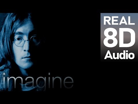 Imagine - John Lennon | 8D Audio Music. Use headphones.