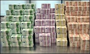 En massa sedlar som INTE finns på Bahamas