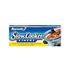 """Reynolds 00504 Slow Cooker Liners, 13"""" X 21"""""""