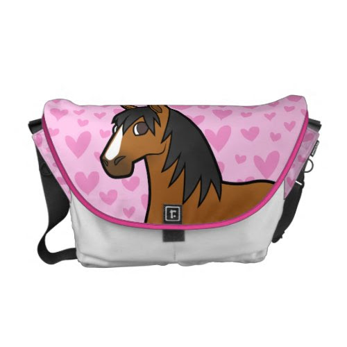 Horse Love Commuter Bag