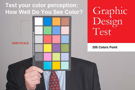 Graphic Design Test Colors How Many Precise Are Your Eyes Deep You
