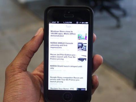 Digg RSS iPhone App
