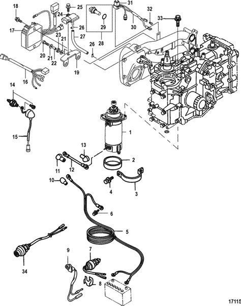 Mercury Marine 30 HP EFI (3 Cylinder) (4-Stroke) Starter