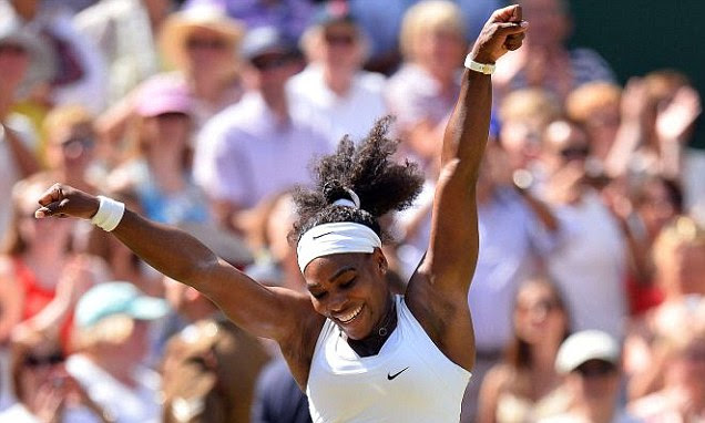 Serena Williams takes on 21-year-old Garbine Muguruza in Wimbledon Ladies Final in front