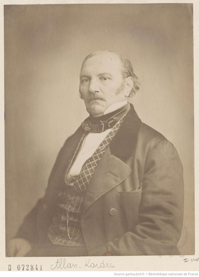 [Recueil. Portraits d'Hippolyte Léon Denizard Rivail, dit Allan-Kardec (XIXe s.)]