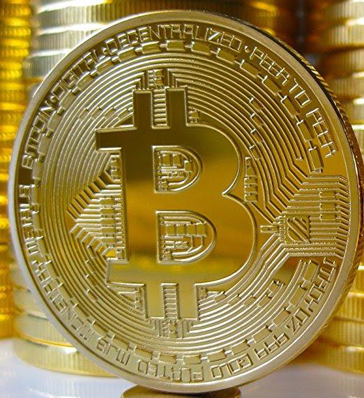 bitcoin price visualization