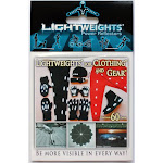 Lightweights Power Reflectors for Clothing - 60 piece