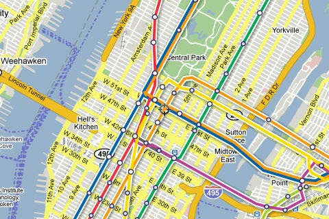 Google Nyc Map   Map North East