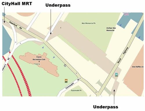 OneMap for CityLink Mall