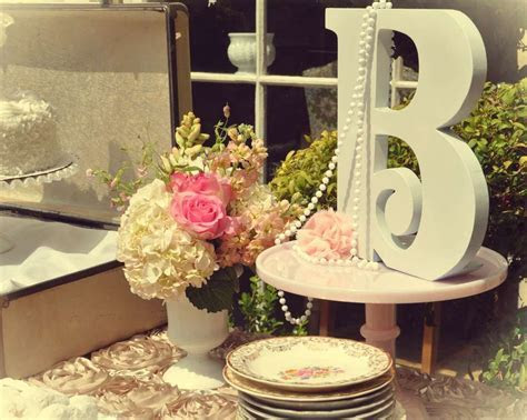 Vintage tea party Bridal/Wedding Shower Party Ideas in